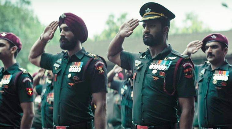 Uri-The Surgical Strike first look poster: Vicky Kaushal looks intense
