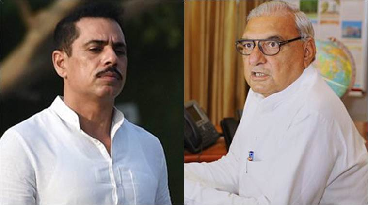 ED moves for details of land deal linked to Robert Vadra and Bhupinder Singh Hooda
