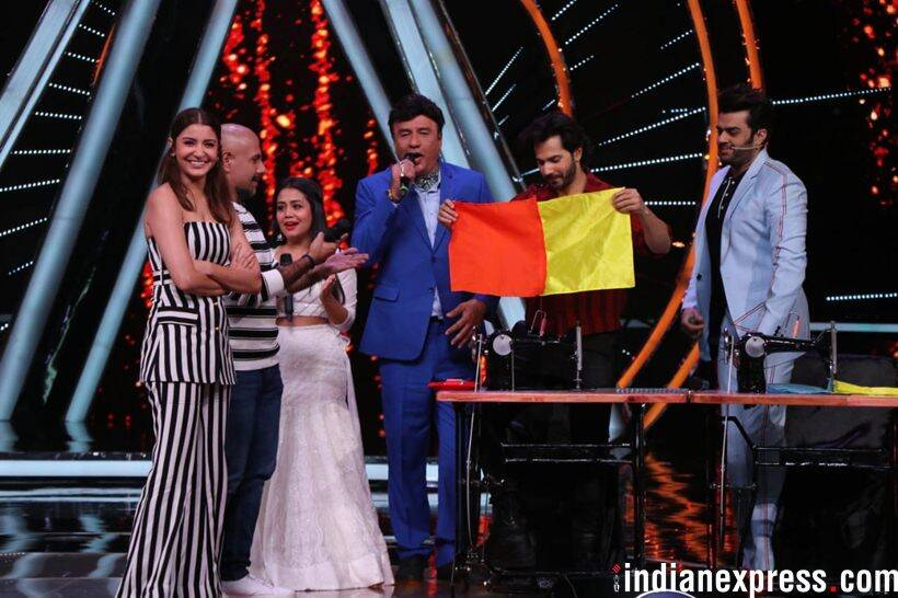 varun dhawan on indian idol 10