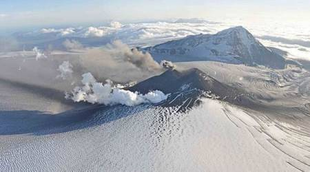 Alaska volcano restless again; scientists increase threatlevel