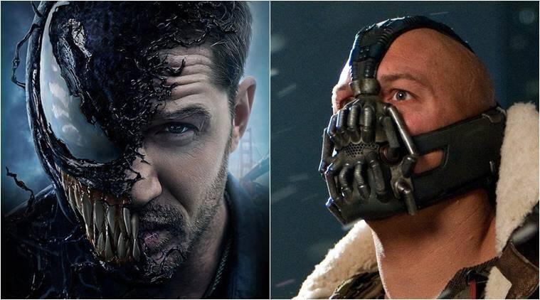 Tom Hardy brings out Marvel's darker side in 'Venom'