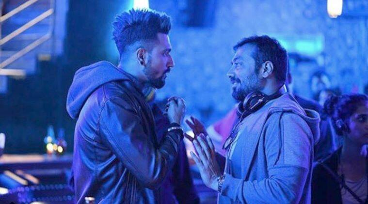 vicky kaushal with anurag kashyap in manmarziyaan