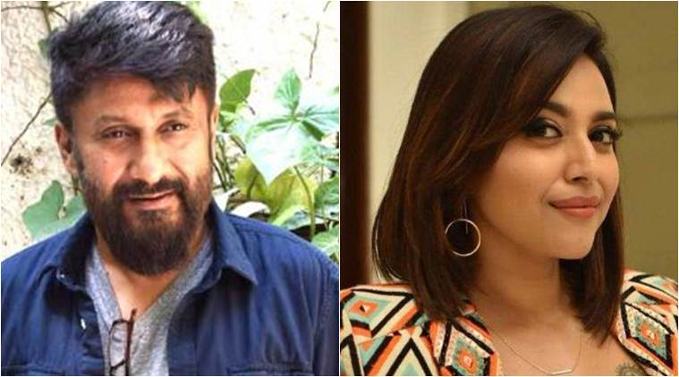 Vivek Agnihotri and Swara Bhasker on Twitter