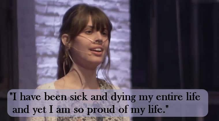 Claire Wineland, terminally ill Wineland, what is cystic fibrosis, cystic fibrosis, Claire Wineland speech, goalcast, goalcast speech,