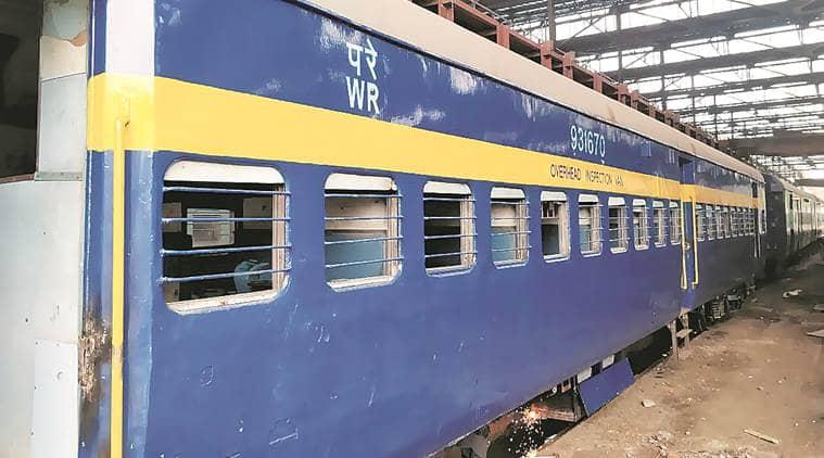 Western Railway,Western Railway rail coach,Western Railway bridges, mumbai rail bridges, indian express