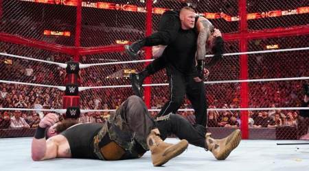 WWE Hell in a Cell 2018 Results: Brock Lesnar's surprise return obliterates Roman Reigns, Braun Strowman