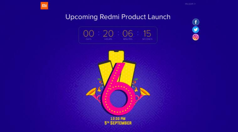 Xiaomi Redmi 6 Series Launch In India Today How To Watch Live