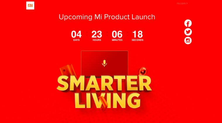 Xiaomi teaser hints at Mi Band 3, smart TVs India launch on Sept27