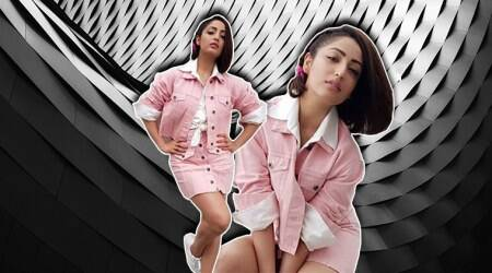 Yami Gautam's candyfloss outfit is giving us old school vibes