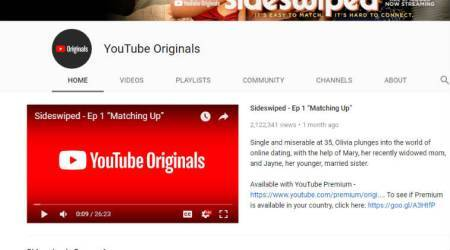 YouTube Originals is now in India: Here's everything you need toknow