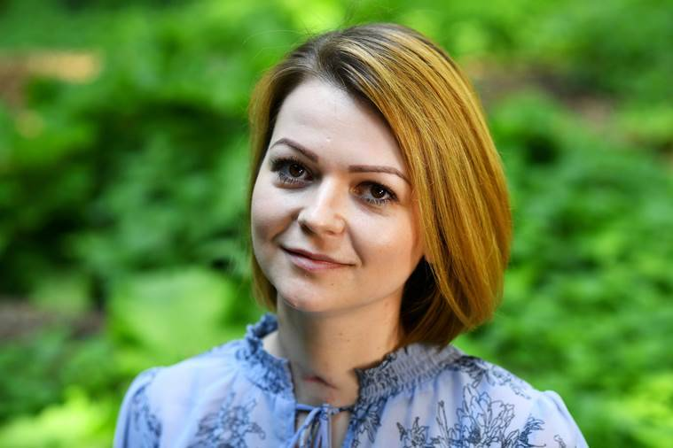 Yulia Skripal, daughter of former Russian spy Sergei Skripal