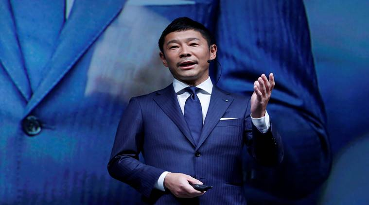Who is SpaceX's first moon passenger, Yusaku Maezawa?