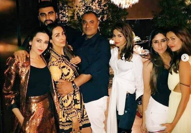 arjun kapoor at malaika arora birthday