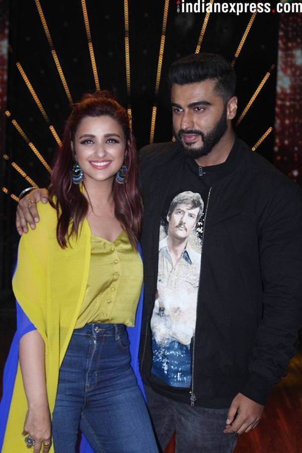 Arjun Kapoor and Parineeti Chopra Namastey England