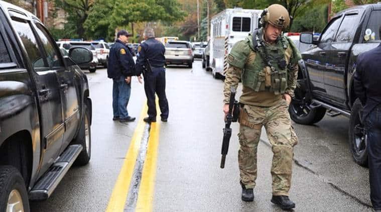 US: Gunman kills at least 8, injures 12 in Pittsburgh synagogue shooting