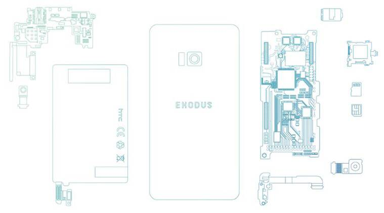 HTC Exodus, HTC Exodus October launch, HTC Exodus blockchain phone, HTC Exodus cryptocurrency, HTC Exodus price, HTC Exodus features, HTC Exodus specifications, HTC Exodus price in India, HTC Exodus OS, Bitcoin, Ethereum, HTC, Phil Chen, Exodus
