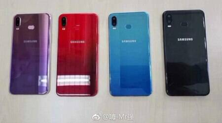 Samsung Galaxy A6s leaked images reveal dual rear camera, gradient colours