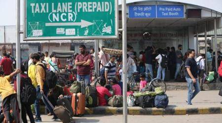 Commuters in Delhi left stranded as auto, taxi unions go on strike