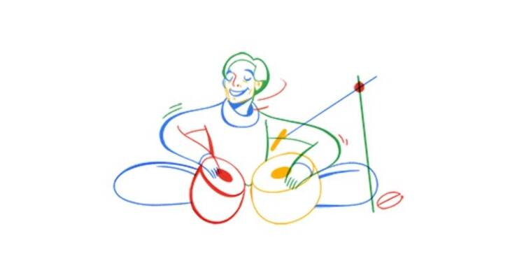 Google pays homage to musician Lachhu Maharaj on 74th birthday with a doodle