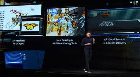Adobe, Adobe Project Aero, Project Aero AR, Adobe Photoshop, Adobe Dimension, Abhay Parasnis, Adobe CTO, ARKit, GLTF, Apple, VR, Augmented Reality, Adobe Premium Rush CC, Project Tango, Adobe Project Gemini, Adobe Max 2018, Adobe