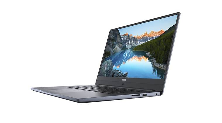 Dell Inspiron 15 7572 laptop with 8th gen Intel processor