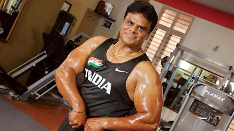 A V Ravi, an actor, and an accomplished bodybuilder