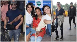Celeb spotting: Aamir Khan, Soha Ali Khan, Sushmita Sen and others