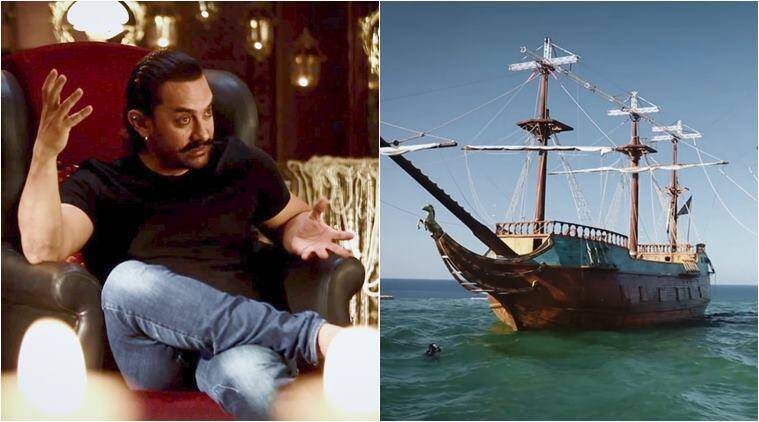 aamir khan thugs of hindostan ships