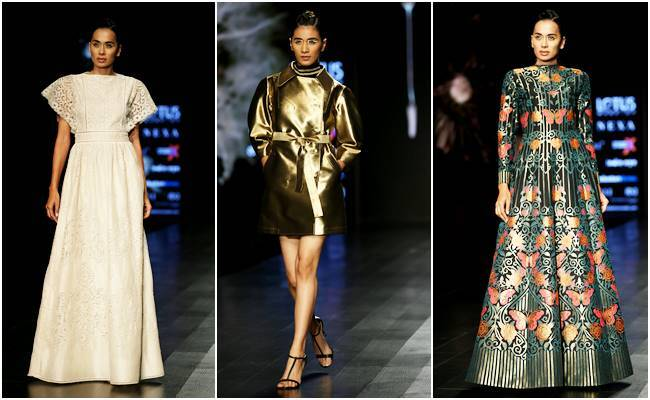 Lotus Makeup India Fashion Week, LMIFW'19, Wendell Rodricks, Gauri and Nainika, Prashant Chauhan, Nitin Bal Chauhan, Abhishek Gupta, indian express, indian express news