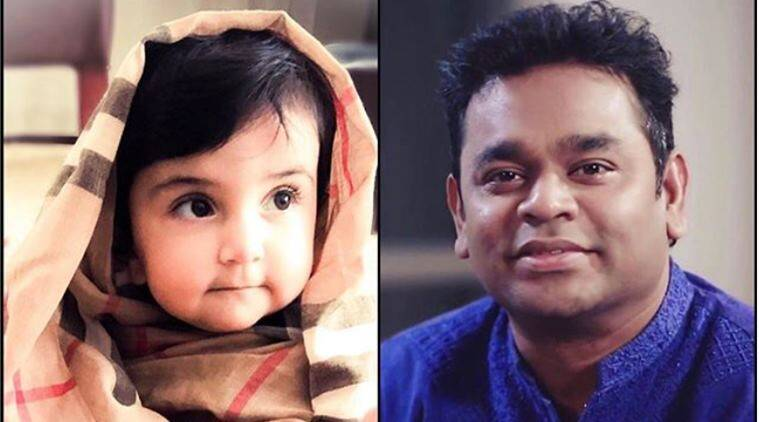 ar rahman, adnan sami, rahman adnan sami daughter facetime, adnan sami daughter rahman facetime, indian express, viral news, entertainment news