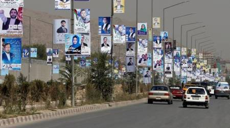 Afghanistan elections, Afghanistan Parliamentary elections, parliamentary polls, Kabul campaign, World news, Indian express