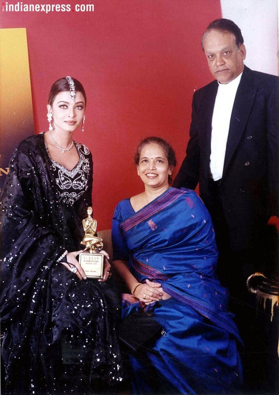 aishwarya rai parents
