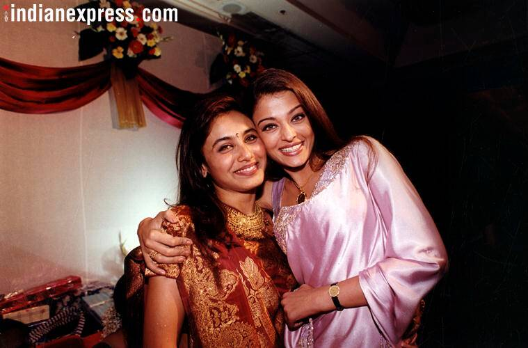 Rani Mukerji and Aishwarya Rai