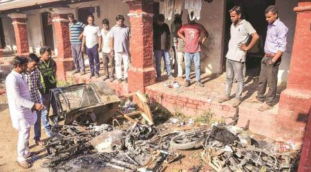 Day after Allahabad varsity students' poll results, four held for violence oncampus