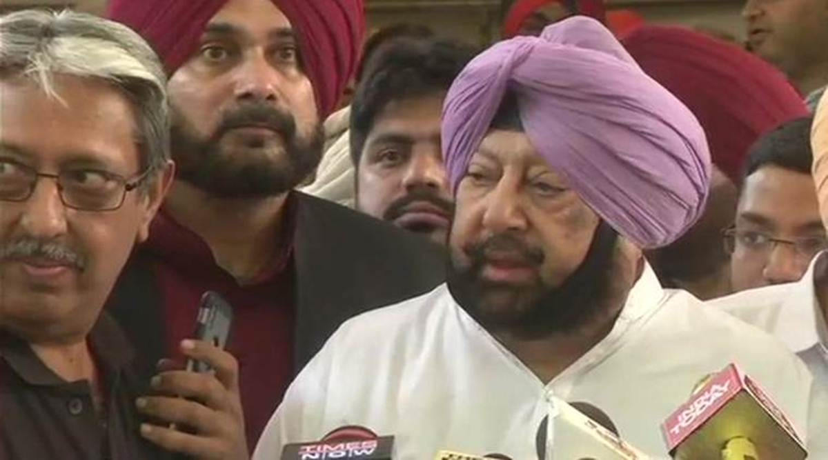 Amritsar attack: Wont let forces of terror destroy peace vows CM Amarinder