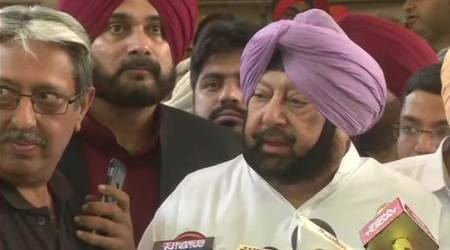 Punjab Chief Minister Amarinder Singh. (Photo credit: Express file photo)