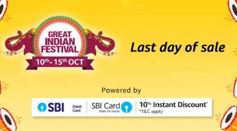 30fb3b616 Amazon Great Indian Festival Sale Last Day  Top deals on Samsung ...