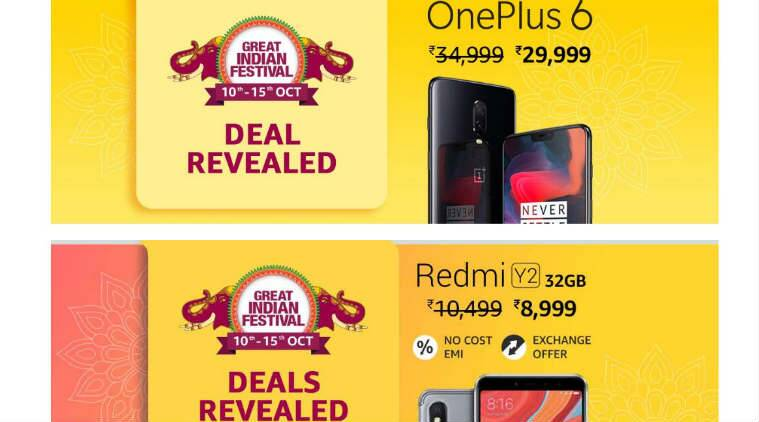 Amazon Great India Festival sale, Great India Festival sale dates, Amazon India sale, smartphone offers Great India Festival sale, Amazon Echo offers, Great India Festival sale Kindle discounts, top smartphone deals on Amazon, Great India Festival sale duration, Great India Festival sale mobile phone offers