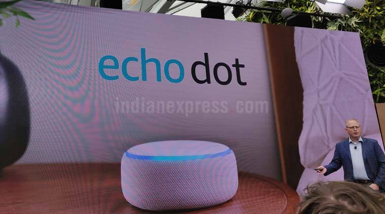 Amazon, Amazon Echo, Echo Dot, Echo Plus, Echo Sub, Amazon Great Indian Festival, Amazon Alexa, Alexa, Amazon Echo Dot launched, Amazon Echo Plus launched