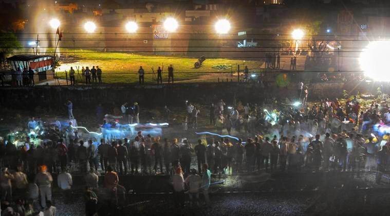 Punjab orders probe in Amritsar train accident: why was effigy allowed to burn by tracks