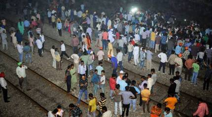 Amritsar train accident LIVE: 61 dead, railways says 'clear case of trespassing'