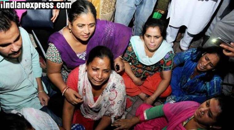 Amritsar train accident death toll