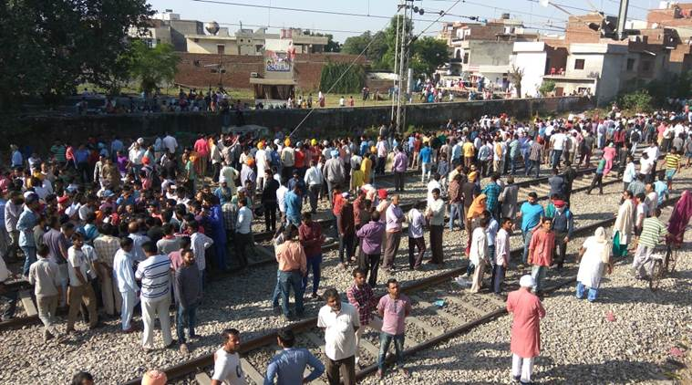 Amritsar train accident: Over 5,000 people standing on railway tracks, claims organiser in video