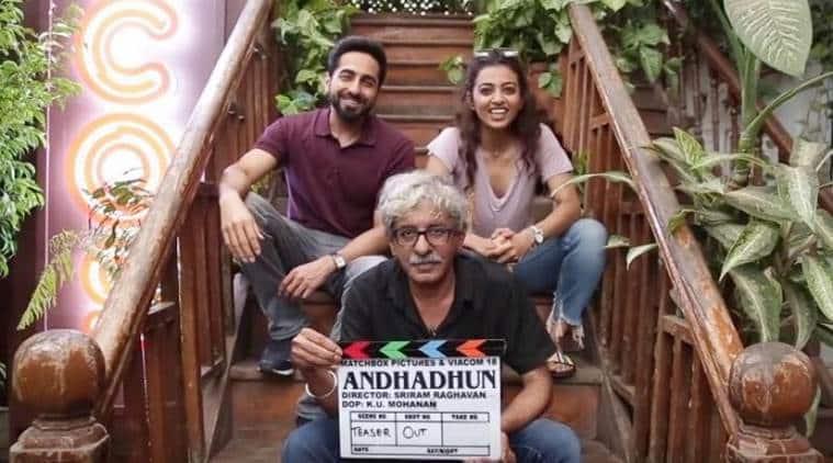 Andhadhun Ayushmann Khurrana on working with director Sriram Raghavan