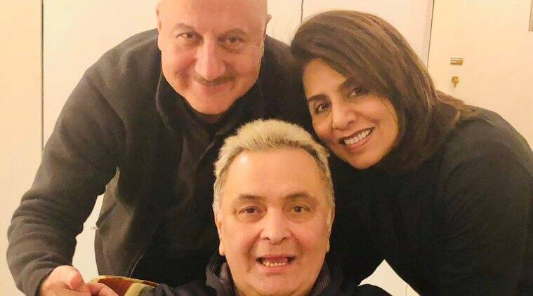 rishi kapoor and anupam kher in new york
