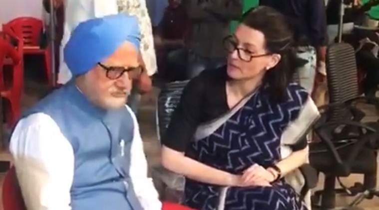 Anupam Kher in accidental prime minister