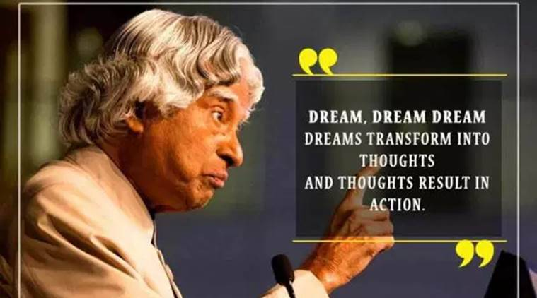 Apj Abdul Kalam Birth Anniversary Inspirational Quotes By Missile