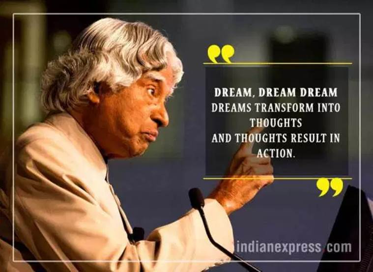 APJ Abdul Kalam Birth Anniversary: Inspirational quotes by ...
