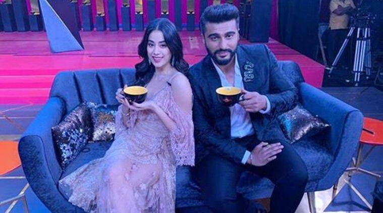 Janhvi Kapoor and Arjun Kapoor come together for Koffee With Karan