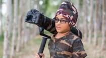 Big thing for me as my photograph will be shown in 65 countries, says child prodigy Arshdeep Singh